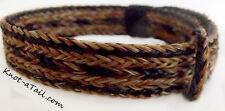 New listing Wider Horsehair bracelet Bold sorrel/black horsehiar Bold bracelet adjustable