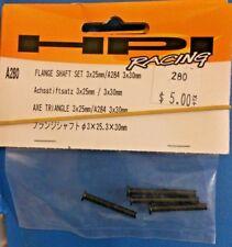 HPI Part #A280 FLANGE SHAFT SET 3x25mm/3x30mm for the Nitro RS4 3/ MT 2