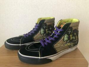 VANS × KISS Collaboration Hotter Than Hell Leather Mens Suede Sneakers 27cm