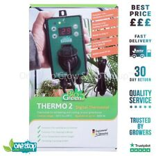 More details for bio green thermo 2 digital thermostat - hydro, greenhouse