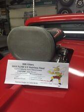 Tunnel Ram Scoop Filter BDS Fuel injection V-8 4 Barrel  9.5 x 6.50