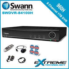 Swann DVR8-4100 8 Channel 960H 1TB Digital Video Recorder - SRDVR-84100H