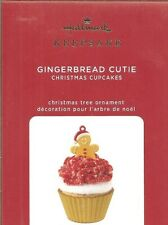 Hallmark 2020 Gingerbread Cutie Christmas Cupcake Series Ornament