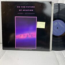 Jerry Goodman On The Future Of Aviation- Private Music 2003 VG++/VG+ Record