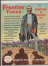 Vintage Frontier Times Magazine Shoot Out On Christmas Day Whipping Tree 1965