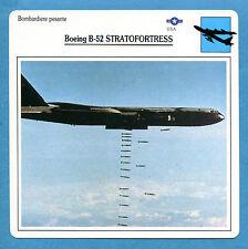 SCHEDA TECNICA AEREI - BOEING B-52 STRATOFORTRESS - (USA)