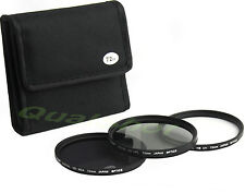 72mm 3pc Filter Kit w/ UV, CPL, ND4 for Nikon 18-200mm f/3.5-5.6G AF-S DX