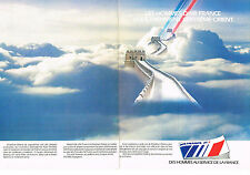 PUBLICITE ADVERTISING   1979   AIR FRANCE   l' extreme-Orient ( 2 pages)