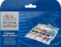 Winsor & Newton COTMAN WATERCOLOUR GIFT SETS artists paint tubes half/whole pans