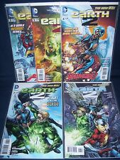 Earth 2 Comic Lot #2 - #4, #6, #7 Dc Comics Nm with Bag and Board New 52