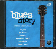 BLUES STORY - N°27 ZYDECO & DELTA BLUES - CD COMPILATION NEUF ET SOUS CELLO