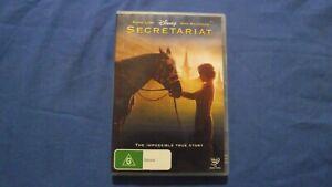 Secretariat Diane Lane John Malkovich - DVD - R4 - Free Postage