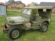 Canvas Sommer Verdeck Willy's Jeep MB Jeepverdeck Ford GPW Hotchkiss