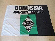"""Borussia Mönchengladbach Originale Fan Fahne 80iger Jahre """"Borussia Wappen"""""""