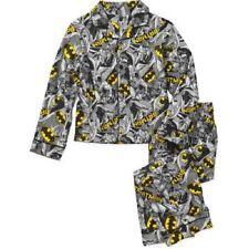 Boys Batman 2pc Flannel Pajama Set New with Tags!! Size 6/7! Brand New!! Kids