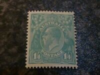AUSTRALIA POSTAGE STAMP SG131 1/4D 1932 LIGHTLY-MOUNTED MINT