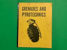 Vietnam Era US Army FM23-30 Grenades & Pyrotechnics Training Manual Rare Reprint