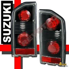 88-98 Suzuki Sidekick Black Tail Lights Lamps 1 Pair 89 92 93 94 96