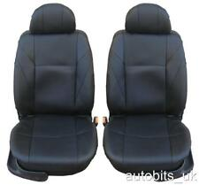 1+1 FRONT LEATHERETTE BLACK SEAT COVERS FOR MERCEDES SPRINTER VITO 1+1