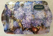 Ashdene Of Australia 100% Melamine Hydrangea Scatter Tray Blue Purple Flowers