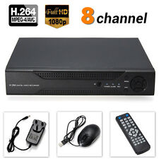 H.264 8CH D1 DVR HDMI Audio Digital Video Recorder For Home CCTV Security Camera