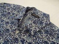 """HOLLAND ESQUIRE Mens Shirt 🌍 Size 16.5""""(44"""" CHEST)🌎 RRP £120+📮 FLORAL LIBERTY"""