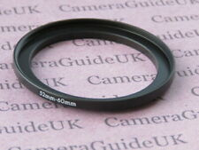 52mm to 60mm 52mm-60mm Stepping Step Up Filter Ring Adapter