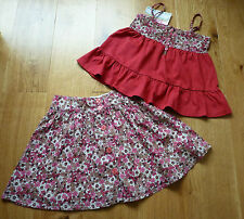 BNWT Vertbaudet Stunning 2-Part Outfit (Top & Skirt) Size 4 years, Brand New!