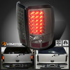 2000-2006 Chevy Tahoe Suburban GMC Yukon Denali Smoke LED Tail Lights Left+Right