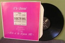 """The Damned """"Live at the Lyceum 1981"""" LP NM- US The Clash Sex Pistols"""