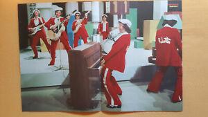 Rubettes Poster aus Bravo von 1974