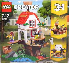 LEGO Creator 31078 Buamhausschätze 3in1 Piratenschiff Totenkopfhöhle 2 Figur NEU