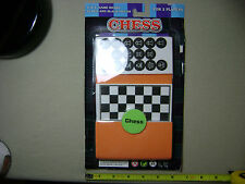 "Foam Chess with 5"" x 5"" Game Board (NEW, sealed)"
