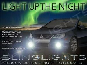 2006 2007 2008 2009 2010 2011 Volkswagen Eos Xenon Fog Lamps Driving Lights Kit