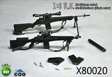 COO Models 1/6 M14 Green and M14DMR Short Black Set