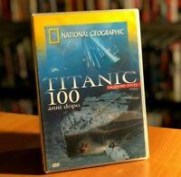 TITANIC 100 ANNI DOPO 2 NATIONAL GEOGRAPHIC DOCUMENTARIO 2 DVD COME NUOVO