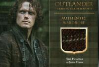 Outlander Season 3,  Sam Heughan 'Jamie Fraser' Wardrobe Card M16