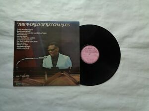Ray Charles (the world of Ray Charles) album on LONDON  RECORDS  FACTORY  SAMPLE