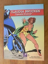 CLAUDIA BRUCKEN OPERATIE SNEEUW COMIC STRIP RITSTIER,OOSTERVEER,BMW K100 ? COVER