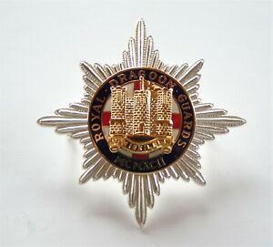British Army Royal Dragoon Guards Officers Cap Badge