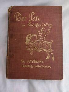 Peter Pan In Kensington Gardens By J.M Barrie - Illustrated by Arthur Rackham