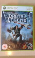 BRUTAL LEGEND GREAT CLASSIC MICROSOFT XBOX 360 GAME COMPLETE PAL VGC
