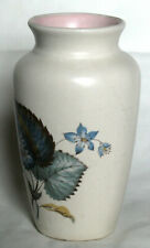 More details for vintage small floral patterned vase - axe vale pottery