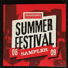 Roadrunner Sampler CD Lamb Of God Devildriver Satyricon Funeral For A Friend