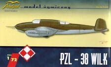 PZL 38 WILK - POLAND 1939 (WITH POLISH FOKA ENGINES) 1/72 ARDPOL RESIN