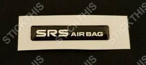 Holden HSV VR VS SRS Airbag Dash Badge Decal