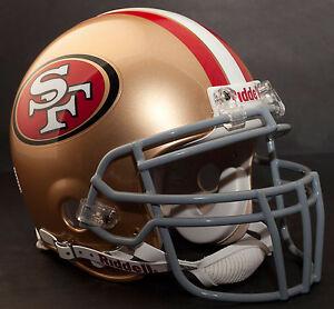 FRANK GORE SAN FRANCISCO 49ers Schutt ROPO-DW Football Helmet FACEMASK (GRAY)