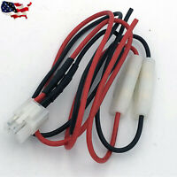 Yaesu/Kenwood/Icom/Alinco 6-pin power lead with fuses
