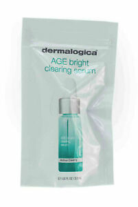 4X Dermalogica Age Bright Clearing Serum 0.1 fl oz/3.0mL TOTAL 12ML !!