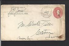 NEDERLAND, COLORADO 1900 COVER, BOULDER CO. 1874/OP.